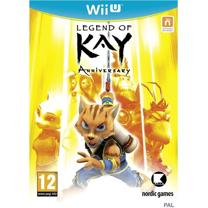 Игра за конзола Legends of Kay Anniversary, за Wii U image