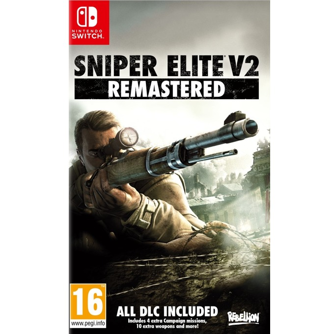 Игра за конзола Sniper Elite V2 Remastered, за Nintendo Switch image