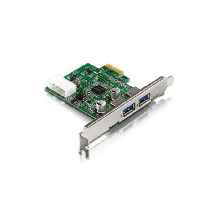 Контролер Estillo, PCI-Express към 2x USB 3.0 Type A(ж) image