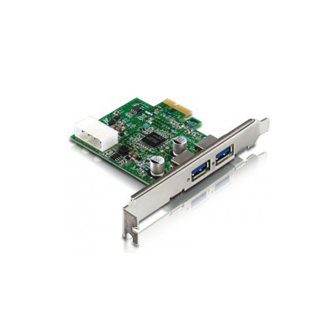 Контролер Estillo, PCI-Express към 2x USB 3.0 Type A(ж) image