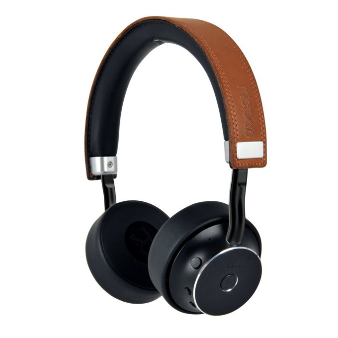 Слушалки Microlab Mogul, безжични, микрофон, Bluetooth, черни image