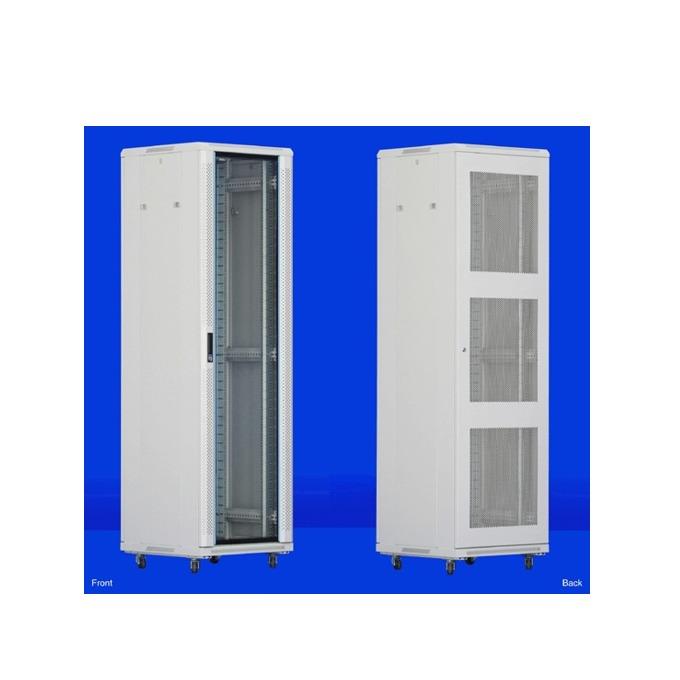 "Комуникационен шкаф Toten AS.6622, 19"", 22U, 600x600 мм, до 800кг товароносимост, IP20 защита image"