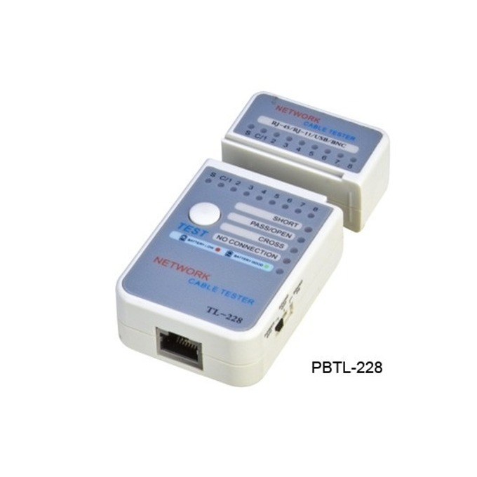 Тестер за кабели Tongrun PB013 TL-228, RJ-45 image
