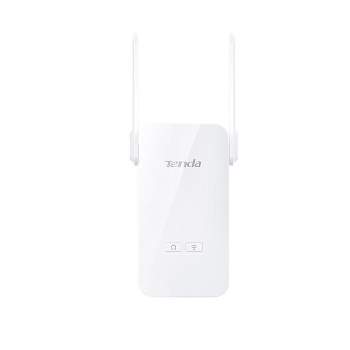 Powerline адаптер Tenda PA6 AV1000, 1000Mbps, Wi-Fi 2.4GHz (300Mbps), до 300м обхват, 2x 10/100/1000 Ethernet порт, 1 устройствo image
