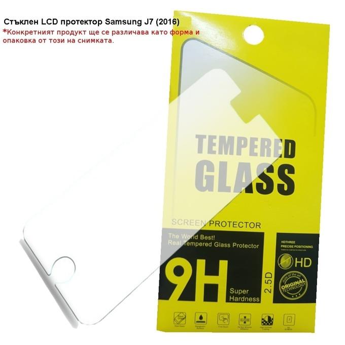 Протектор от закалено стъкло /Tempered Glass/ за Samsung Galaxy J7 2016 image