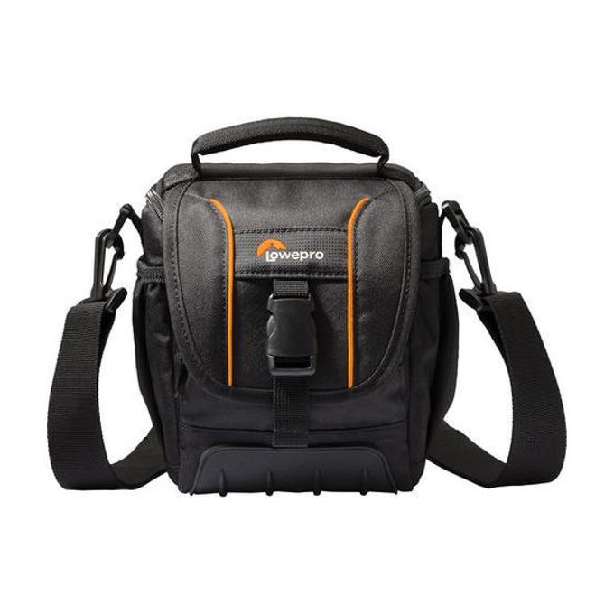 Чанта за фотоапарат Lowepro Adventura SH100 II за компактни фотоапарати, черна image