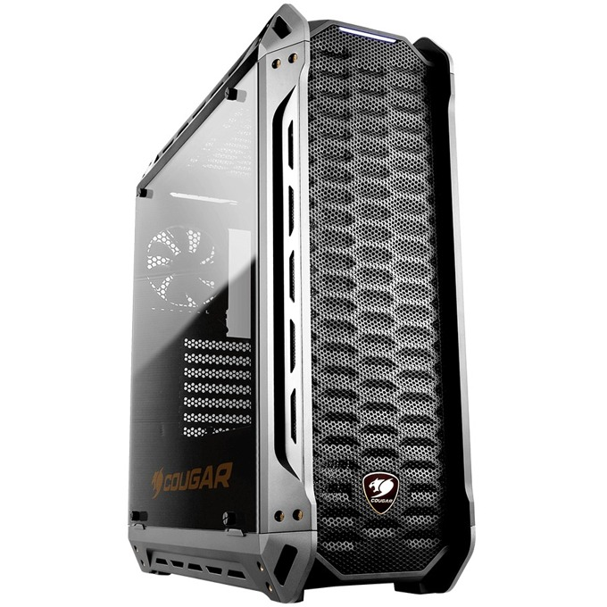 ATX/mATX/miniITX Cougar Gaming PANZER-S, 2x USB 3.0, страничен прозорец, черна, без захранване image