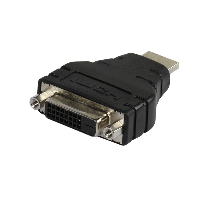 Преходник Vivanco 45454, HDMI(м) към DVI(ж), черен image