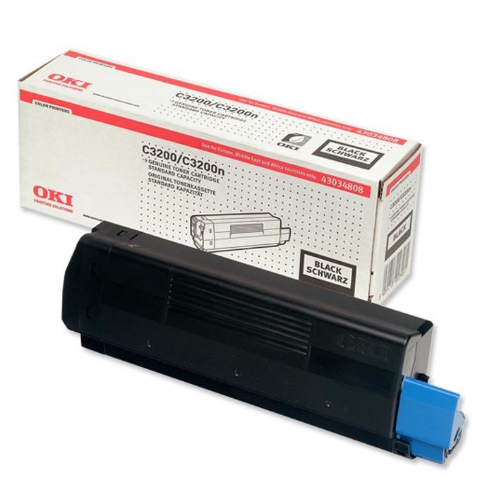 КАСЕТА ЗА OKI C 3200 - Black - P№ 43034808 - заб… product