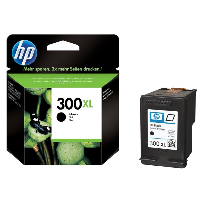 ГЛАВА HEWLETT PACKARD Deskjet D2560 - Black - (300XL) - P№ CC641EE - заб.: 12ml image