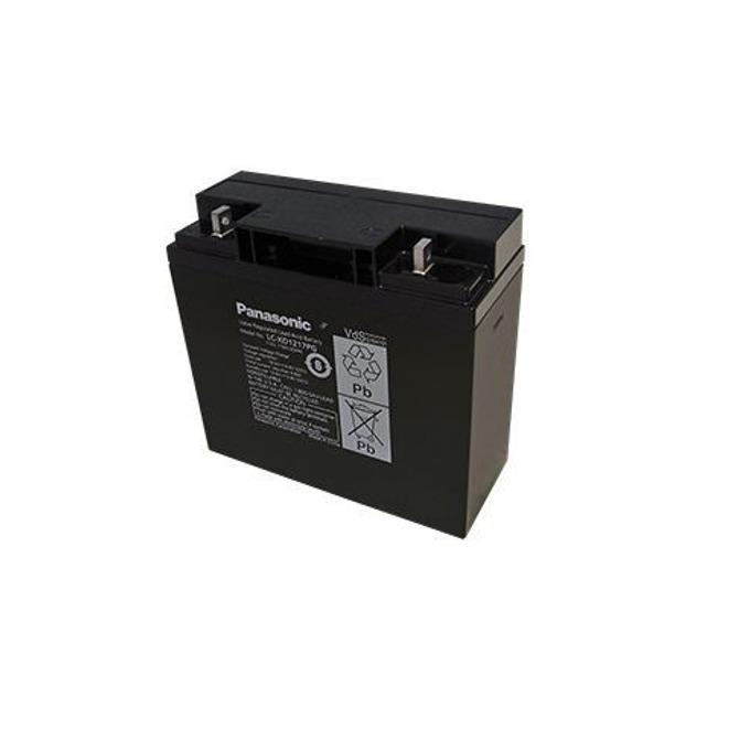 Акумулаторна батерия Panasonic, 12V, 17Ah, 10-12 години живот image