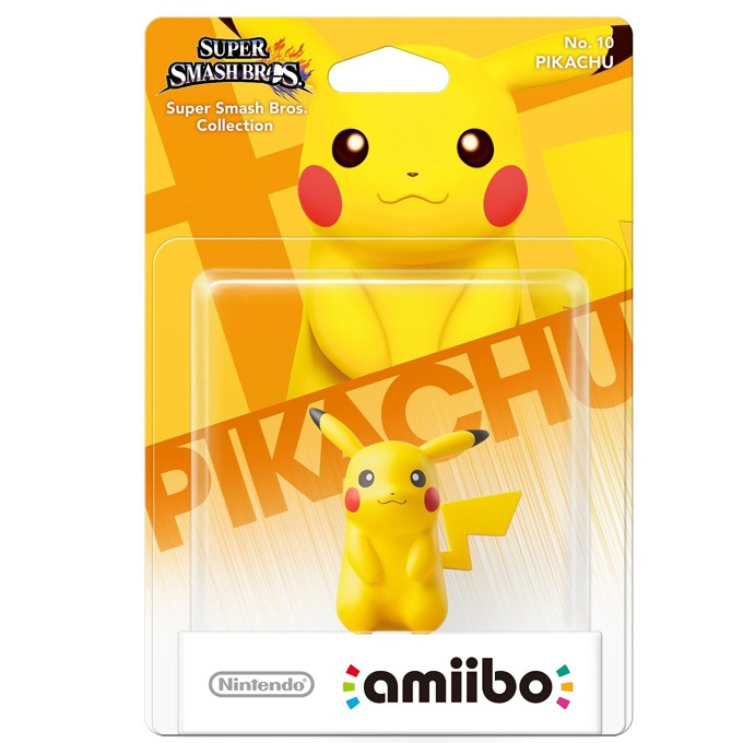 Фигура Nintendo Amiibo - Pikachu, за Nintendo 3DS/2DS, Wii U image
