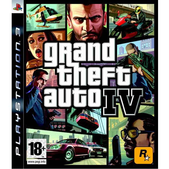 Игра за конзола Grand Theft Auto IV, за PlayStation 3 image