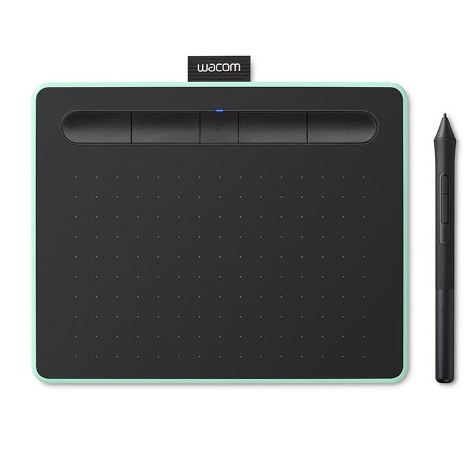 Графичен таблет Wacom Intuos S Bluetooth Pistachio с подарък Bluetooth колонка (зелен)(CTL-4100WLE-N) image