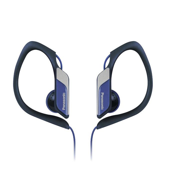 Слушалки Panasonic RP-HS34E, спортни, водоустоичиви, сгъваеми, сини image