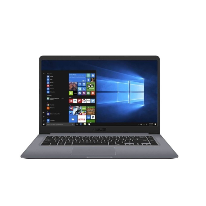 "Лаптоп Asus X510UF-EJ346 (90NB0IK2-M06100)(сив), двуядрен Kaby Lake Intel Core i3-8130U 2.2/3.4 GHz, 15.6"" (39.62 cm) Full HD Anti-Glare Display & GF MX 130 2GB, (HDMI), 8GB DDR4, 1TB HDD, 1x USB 3.1 Type-C, Linux, 1.70 kg image"