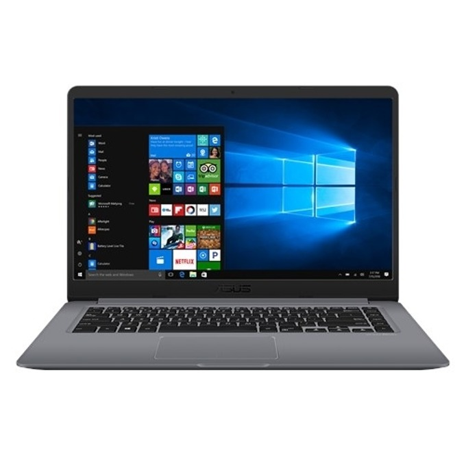 "Лаптоп Asus VivoBook 15 X510UF-EJ307 (90NB0IK2-M12310)(сив), двуядрен Kaby Lake Intel Core i3-8130U 2.20/3.4 GHz, 15.6"" (39.62 cm) Full HD Anti-Glare дисплей & GF MX130 2GB (HDMI), 4GB DDR4, 1TB HDD, 1x USB-C 3.1 Gen 1, Endless OS, 1.70 kg image"