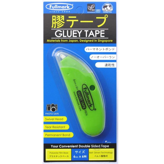 Сухо лепило Fullmark GLUETAPE06PE, лентово(6мм), 6м, зелено image