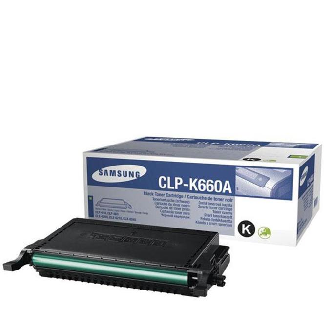КАСЕТА ЗА SAMSUNG CLP610/CLP660/CLX6200/CLX6210/CLX6240 - Black - P№ CLP-K660A - заб.: 2500k image