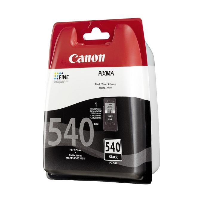 ГЛАВА CANON PIXMA MG2140/MG2150/MG3140/MG3150 - Black ink cartridge - P№ 5225B005/ PG-540 - заб.: 180p. image