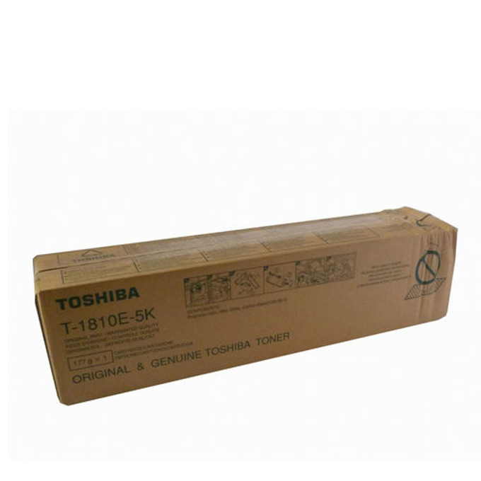TОНЕР ЗА КОПИРНА МАШИНА TOSHIBA eStudio 181/182/211/212/242 - P№ T-1810E-5K - 1pcs. - заб.: 177gr/5000k image
