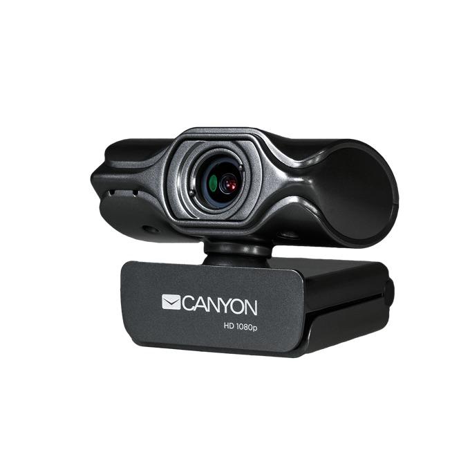 Уеб камера Canyon CNS-CWC6, микрофон, 3.2 MP (1920x1080/60 Fps), USB image
