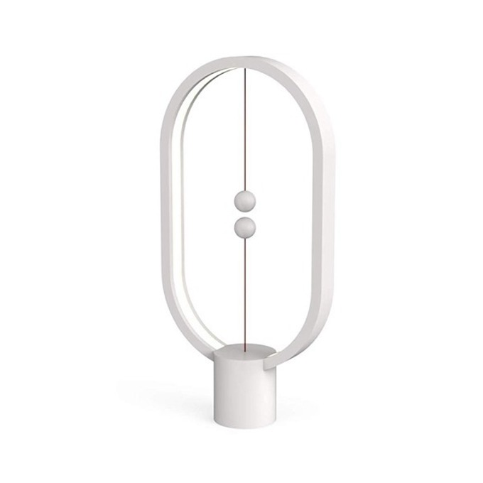 LED настолна лампа Allocacoc HENG Balance Lamp DH0040WT, 5W, 5V, 175 lm, USB, 1.5 м. кабел, бяла image
