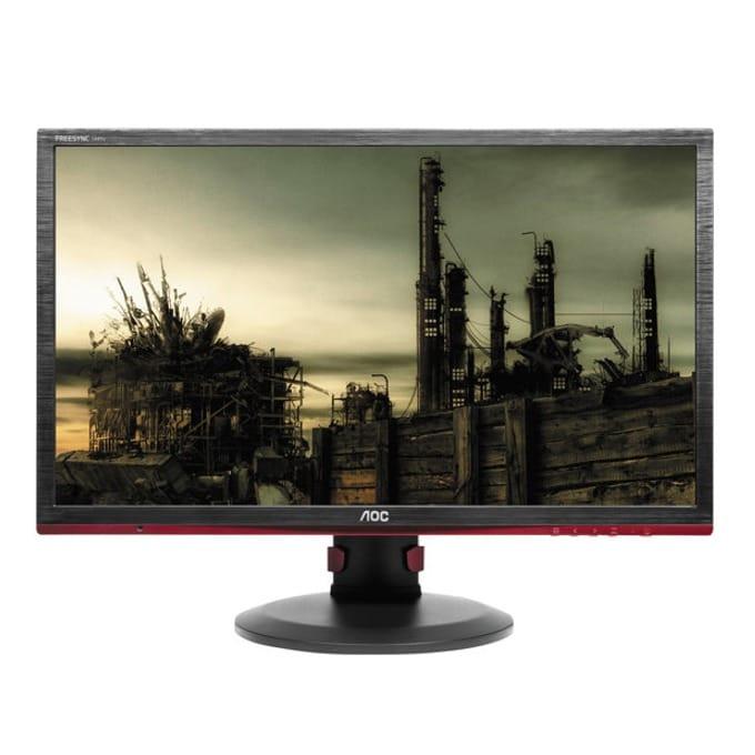 """Монитор 24"""" (60.96 cm) AOC G2460PF, TN панел, Full HD, 1 ms, 80 000 000:1, 350 cd/m2, DP image"""