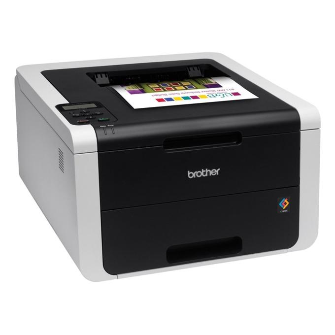 LED принтер Brother HL-3170CDW, цветен, 2400x600 dpi, 22стр/мин, двустранен печат, LAN, Wi-Fi, USB, A4, 2+1 г. image