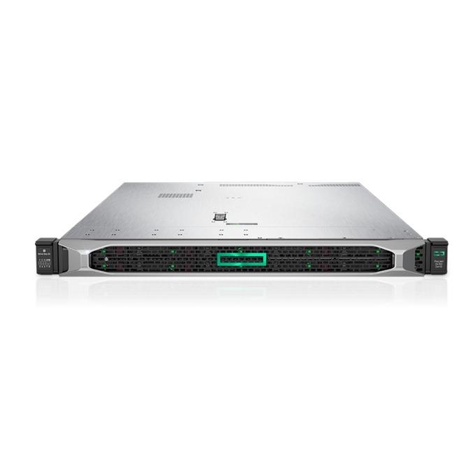 Сървър HPE ProLiant DL360 G10 (PERFDL360-001), осемядрен Intel Xeon Bronze 3106 1.7GHz, 2x 16GB DDR4 DIMM, 600GB(2x 300GB SAS), 4x RJ-45, 1x Display Port, 1x VGA, 5x USB 3.0, microSD слот, без OS, 500W захранване image