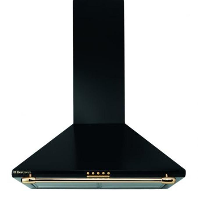 Абсорбатор ELECTROLUX EFC 640 R, свободоностоящ, енергиен клас E, 260W, въздухопоток 417 m3/h, 1 мотор, декоративен, черен image