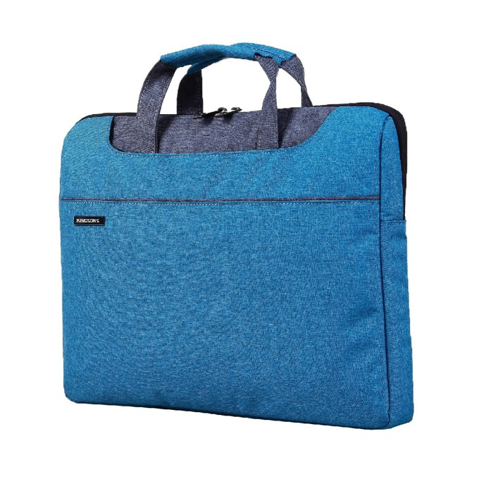 """Чанта за лаптоп Kingsons Concord Series (KS3093W-BBL) за лаптопи до 13.3""""(33.78 cm), синя image"""
