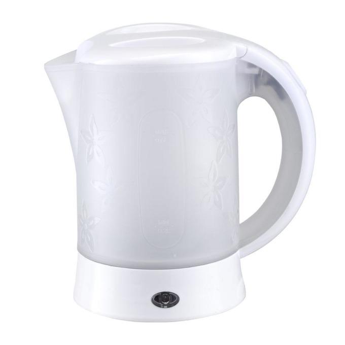 Електрическа кана SAPIR SP 1230 TC, вместимост 0.6 литра, 2 чашки, туристическа, 600 W, бял image