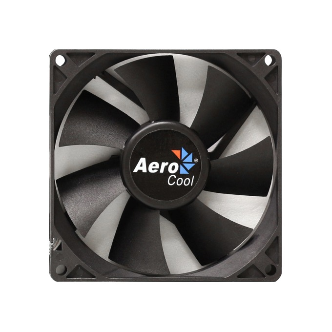 Вентилатор 92mm AeroCool Dark Force Black, 3-pin, 1800rpm image