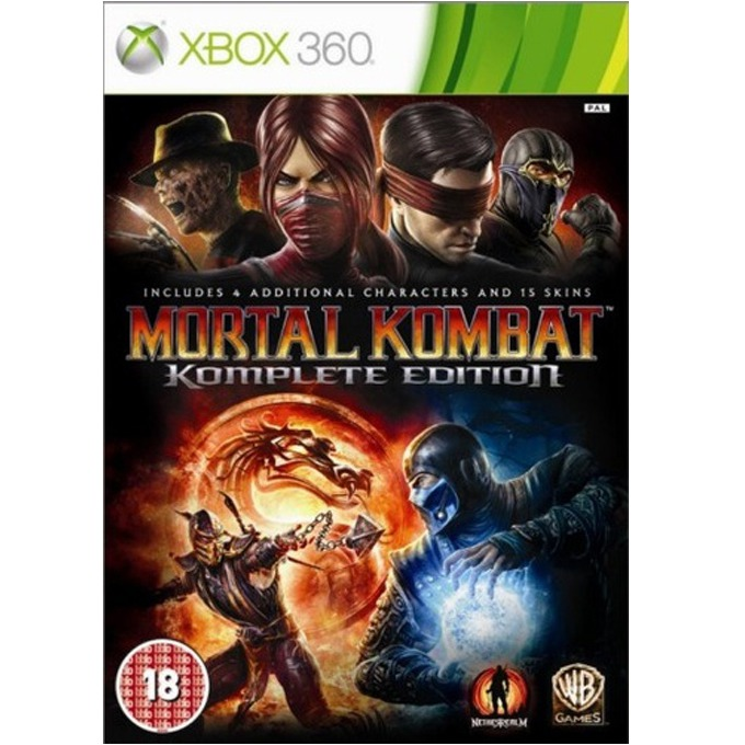 Игра за конзола Mortal Kombat Komplete Edition, за Xbox 360 image