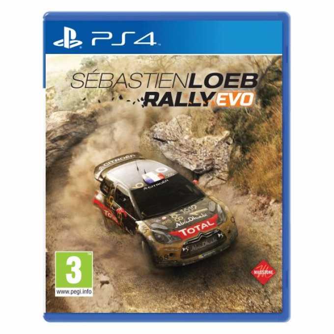 Игра за конзола Sebastien Loeb Rally EVO, за PS4 image