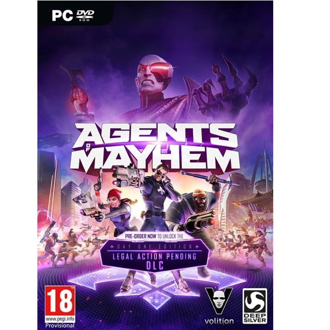 Agents of Mayhem: Day One Edition, за PC image