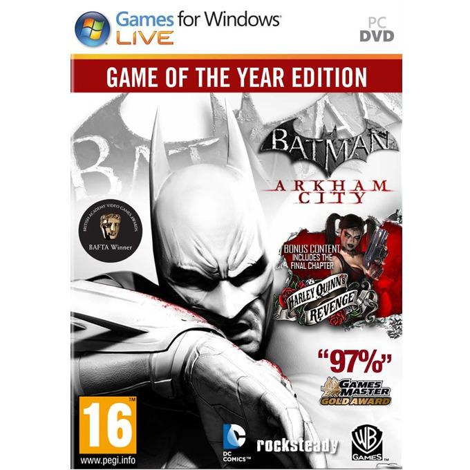 Игра Batman: Arkham City GOTY, за PC image
