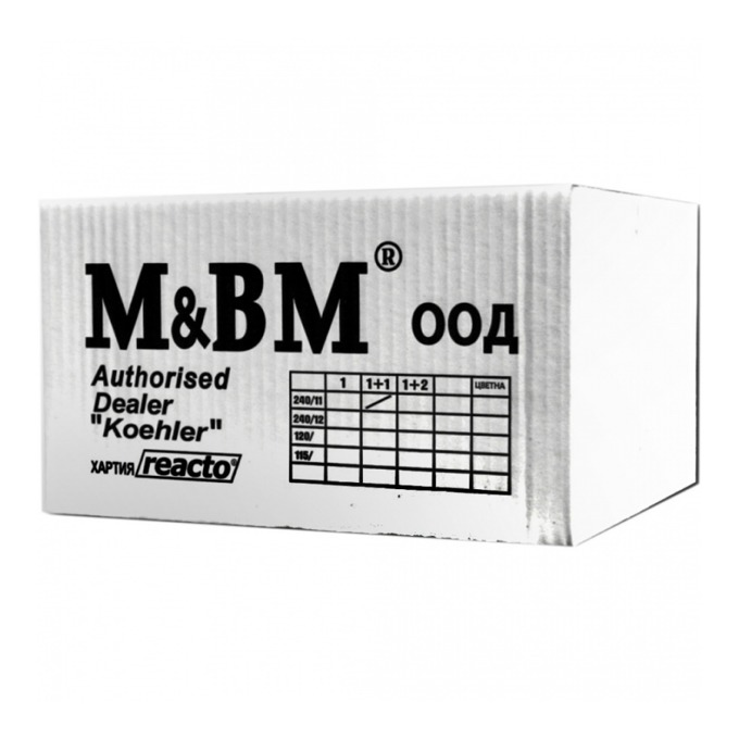 M & BM 240/279.4 mm 2 пласта Цветна product