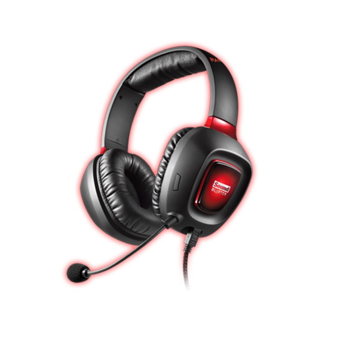 Слушалки Creative SB Tactic 3D Rage, микрофон, черни image