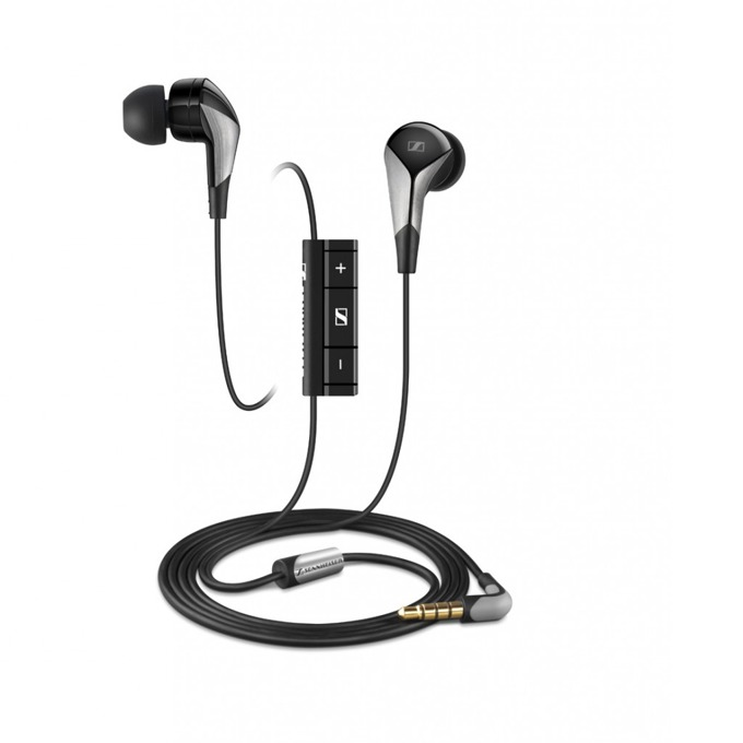 "Слушалки Sennheiser CX 880i Classic, тип ""тапи"", микрофон, черни image"