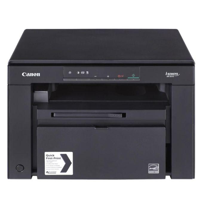 Мултифункционално лазерно устройство Canon i-SENSYS MF3010, монохромен принтер/копир/скенер, 1200x600dpi, 18/18стр/мин, USB, A4 image