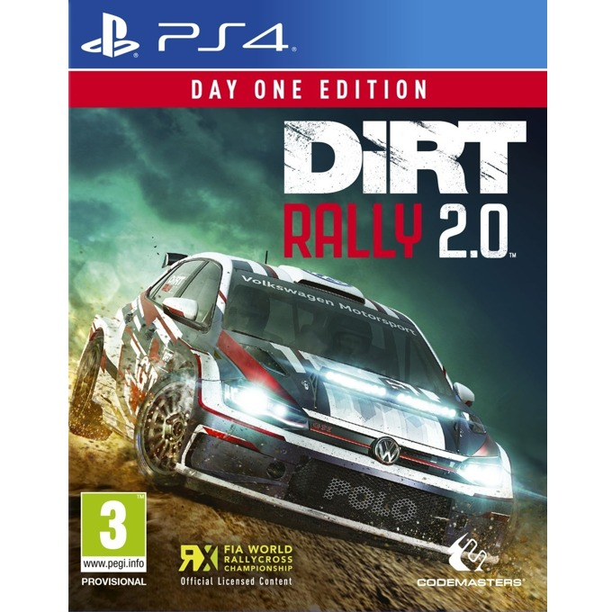 Dirt Rally 2.0 - Day One Edition, за PS4 image