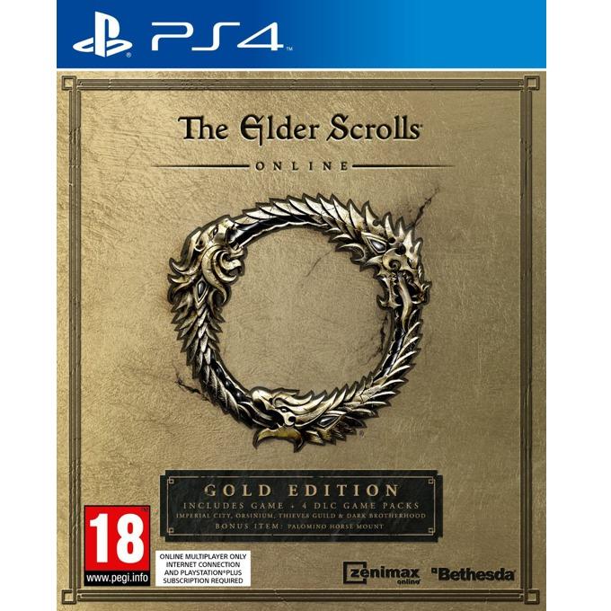 Игра за конзола The Elder Scrolls Online - Gold Edition, за PS4 image