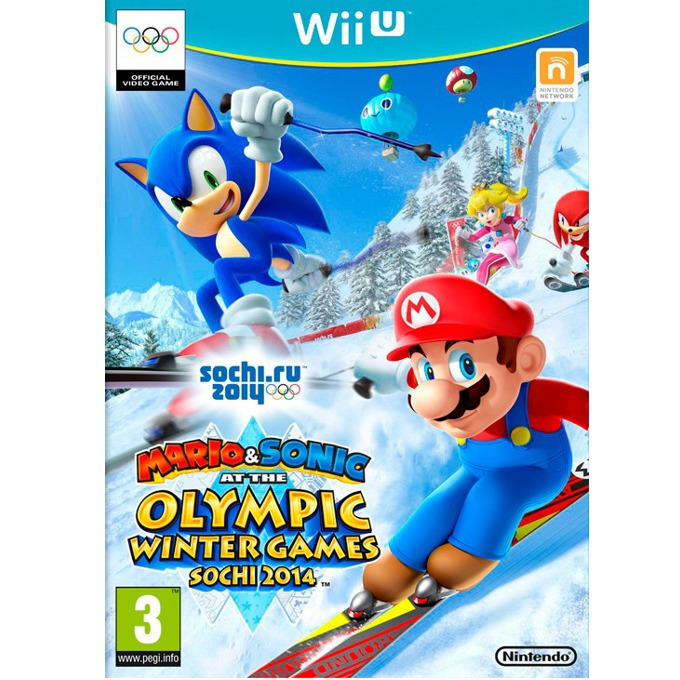Игра за конзола Mario and Sonic at the Sochi 2014 Olympic Winter Games, за Wii U image