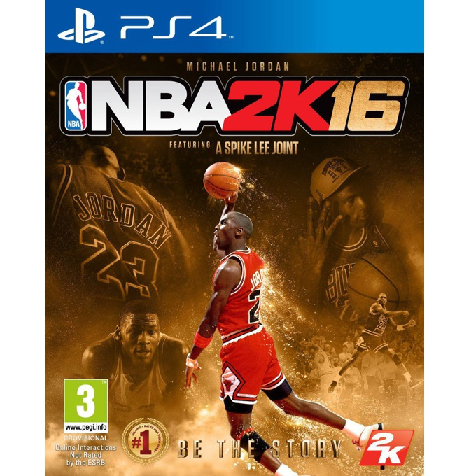 Игра за конзола NBA 2K16 Michael Jordan Special Edition, за PS4 image