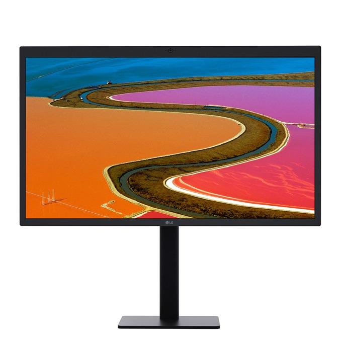 """Монитор LG Ultra Clear 27MD5K-B, 27"""" (68.58 cm) IPS панел, 5K, 12 ms, 500 cd/m2, 1x Upsteam Thunderbolt3, 3x downstream USB-C, вградена камера, съвместим с MacBook Pro  image"""