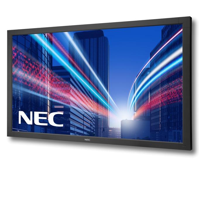 "Публичен дисплей NEC V652, 65""(165.1 cm), Full HD AMVA3 LED, VGA, HDMI, DVI-D, DisplayPort, RS232, LAN image"