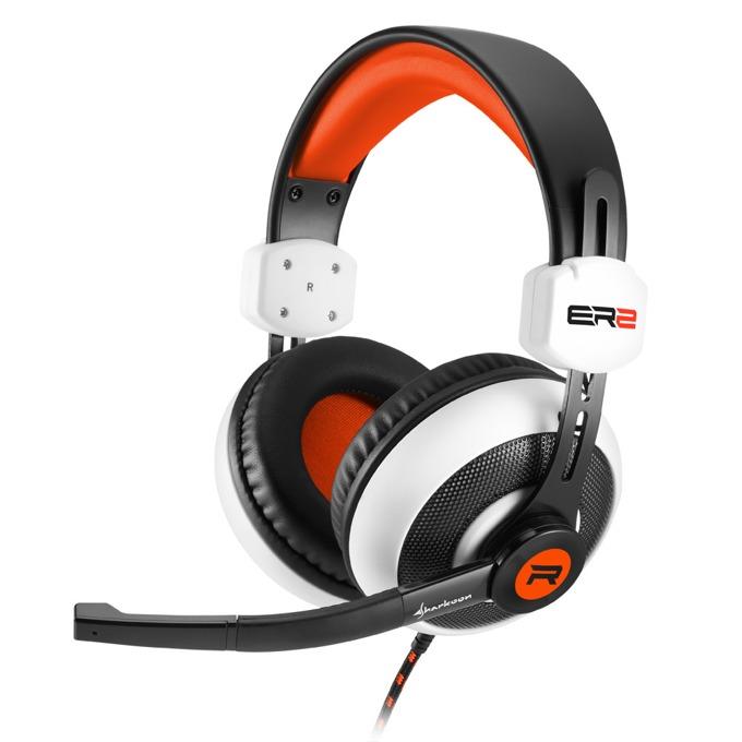 Слушалки Skiller SGH2, микрофон, 20 Hz-20000 Hz, 92 dB ± 3 dB, черен/бял image