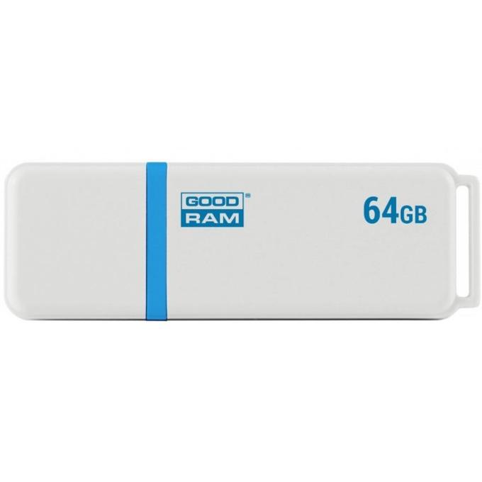 64GB USB Flash Drive, Goodram UMO 2, USB 2.0, бяла image